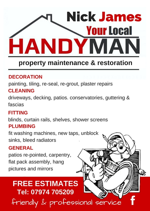 handyman business cards images