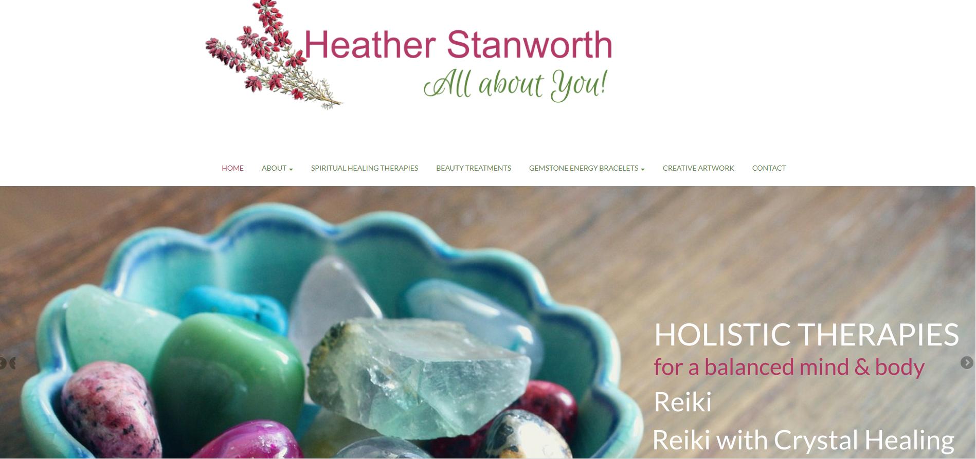 Heather Stanworth Website snip