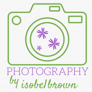 Photography By Isobel Brown Logo White Background